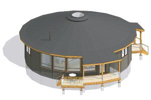 Round house plans circular floor plans prefab kits Circle house plans