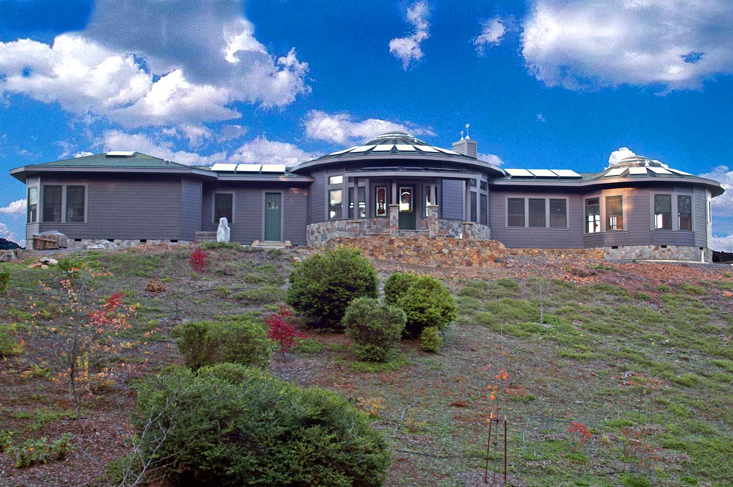 Exteriors Mandala Homes Prefab Round Homes Energy