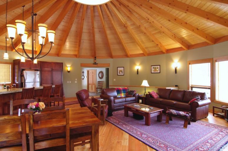 Interiors Mandala Homes Prefab Round Homes Energy