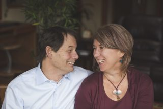 The owners of Mandala Homes, Lars and Rachel, are happy to reduce homebuilding stress for their clients.