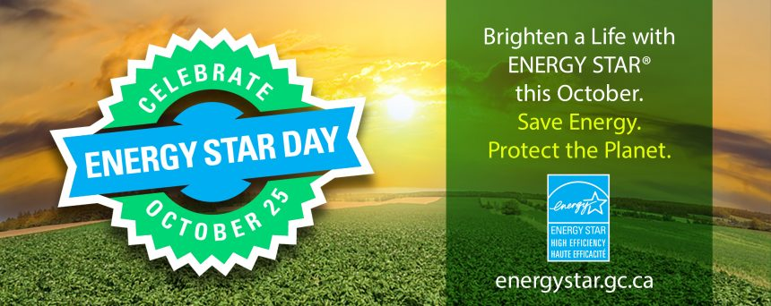 ENERGY STAR DAY Oct 25th