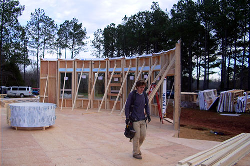 Round Wall Construction